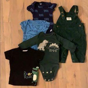 Dinosaur baby bundle 0-3 month